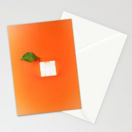 Orange out of the box Stationery Cards