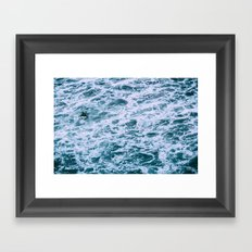 Lost In The Fray Framed Art Print