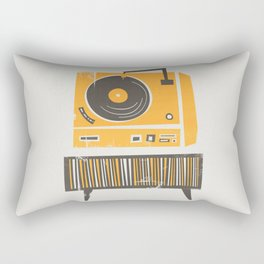 Vinyl Deck Rectangular Pillow