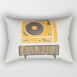 Vinyl Deck Rectangular Pillow
