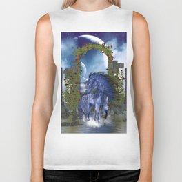 Blue Unicorn 2 Biker Tank