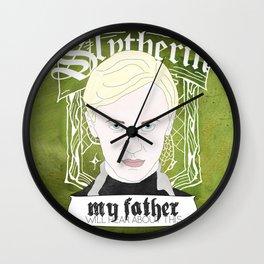 Draco Malfoy from Harry Potter  Wall Clock