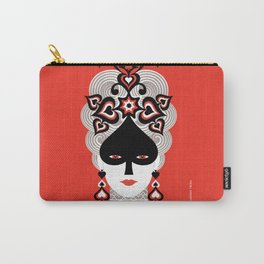 The Queen of spades Carry-All Pouch