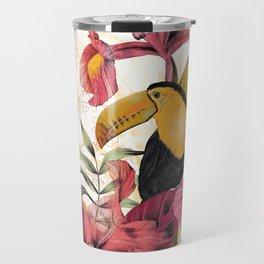 Tropical Garden Tucan Travel Mug