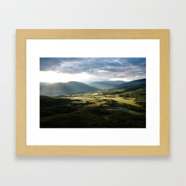 First Light Framed Art Print