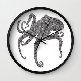Octopus Day Wall Clock