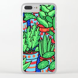 Plants more plants Clear iPhone Case