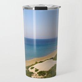 Golden Beach Travel Mug