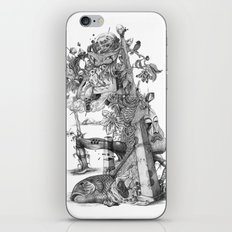 compositions Naturally (Black&White) iPhone & iPod Skin