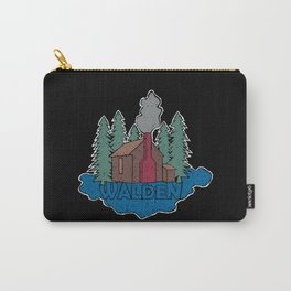 Walden - Henry David Thoreau (Coloured textured version) #society6 #decor #buyart Carry-All Pouch