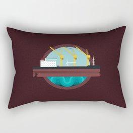 Oil Tanker Rectangular Pillow