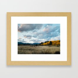 Kenosha Pass, Colorado Framed Art Print