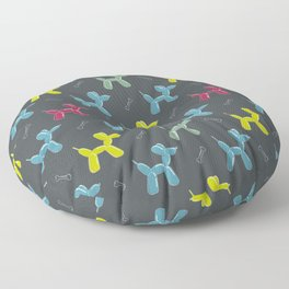 Dog balloon animal pattern Floor Pillow