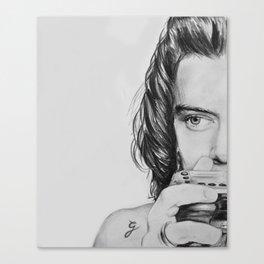 HS camera sketch Canvas Print
