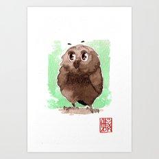 Petite Chouette Art Print