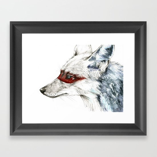 Coyote I Framed Art Print
