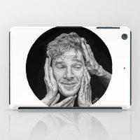 benedict cumberbatch iPad Cases featuring Benedict Cumberbatch  by Cécile Pellerin