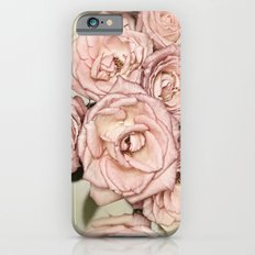 Vintage roses iPhone 6s Slim Case