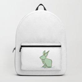 Origami Bunny Buddy Backpack