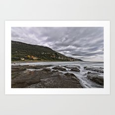 Stormy Sunrise Art Print