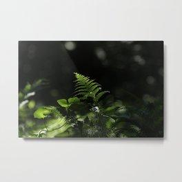 Green fin Metal Print