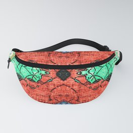 Abstract Pattern Design Fanny Pack