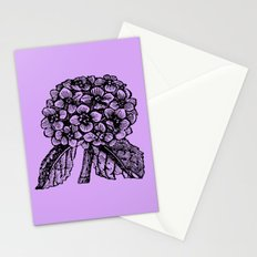 Lavender Hydrangea Stationery Cards