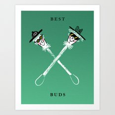 Best Buds I Art Print