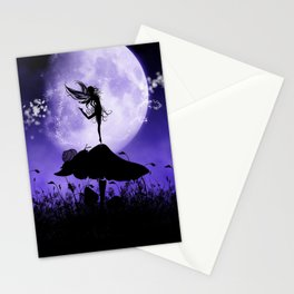 Fairy Silhouette 2 Stationery Cards