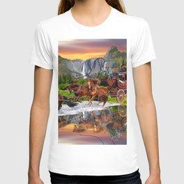 Wells Fargo Stagecoach T-shirt