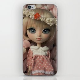 Innocent girl iPhone Skin