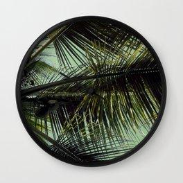 Tropical summer breeze Wall Clock
