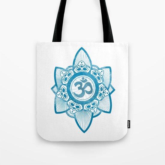 Ohm - Yoga Print Tote Bag