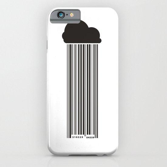 Barcode Rain iPhone & iPod Case