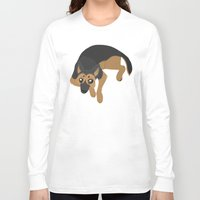 german Long Sleeve T-shirts featuring German Shepherd by Sarah