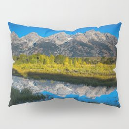 Grand Teton - Reflection at Schwabacher's Landing Pillow Sham