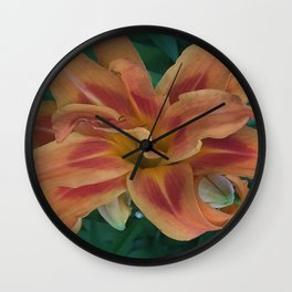 Botanical Florals Zencolor1 Wall Clock