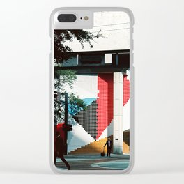 Fort Lauderdale street Clear iPhone Case