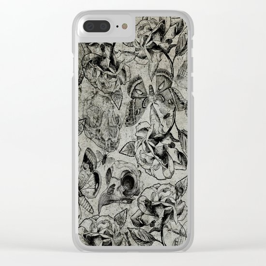 Dead Nature Clear iPhone Case