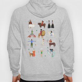 Warrior Women of the Zodiac Hoody