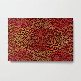 Colorandblack serie 157 Metal Print