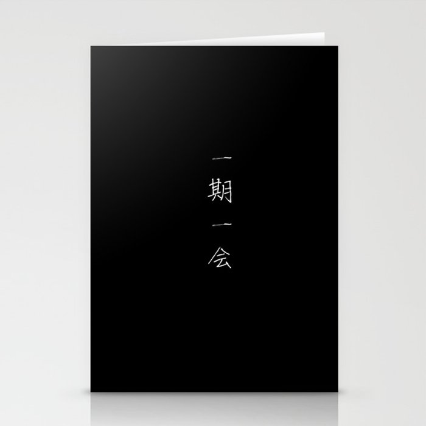 One Life, One Chance (Ichigo Ichi-e) Stationery Cards