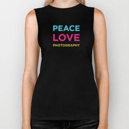 PEACE LOVE PHOTOGRAPHY Biker Tank