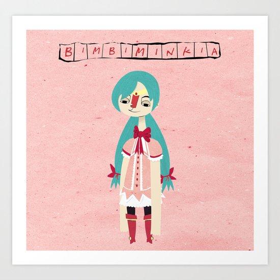 """Bimbiminkia"" - Cosplayer Art Print"
