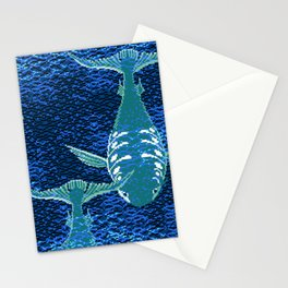 Deep Into Your Ocean Stationery Cards