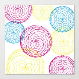 Spiro Blooms Canvas Print