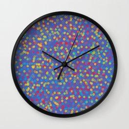 Confetti Carnival Wall Clock