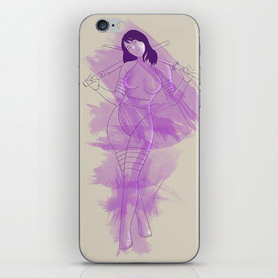 Psylocke iPhone & iPod Skin