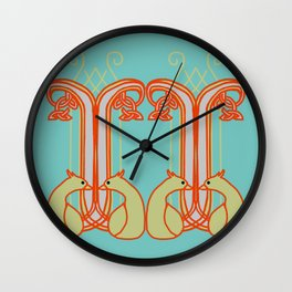 Shoalhaven Lyrebird Wall Clock