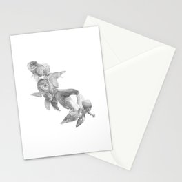 Fancy Fish Stationery Cards